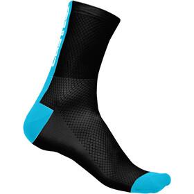 Castelli Distanza 9 Strumpor blå/svart